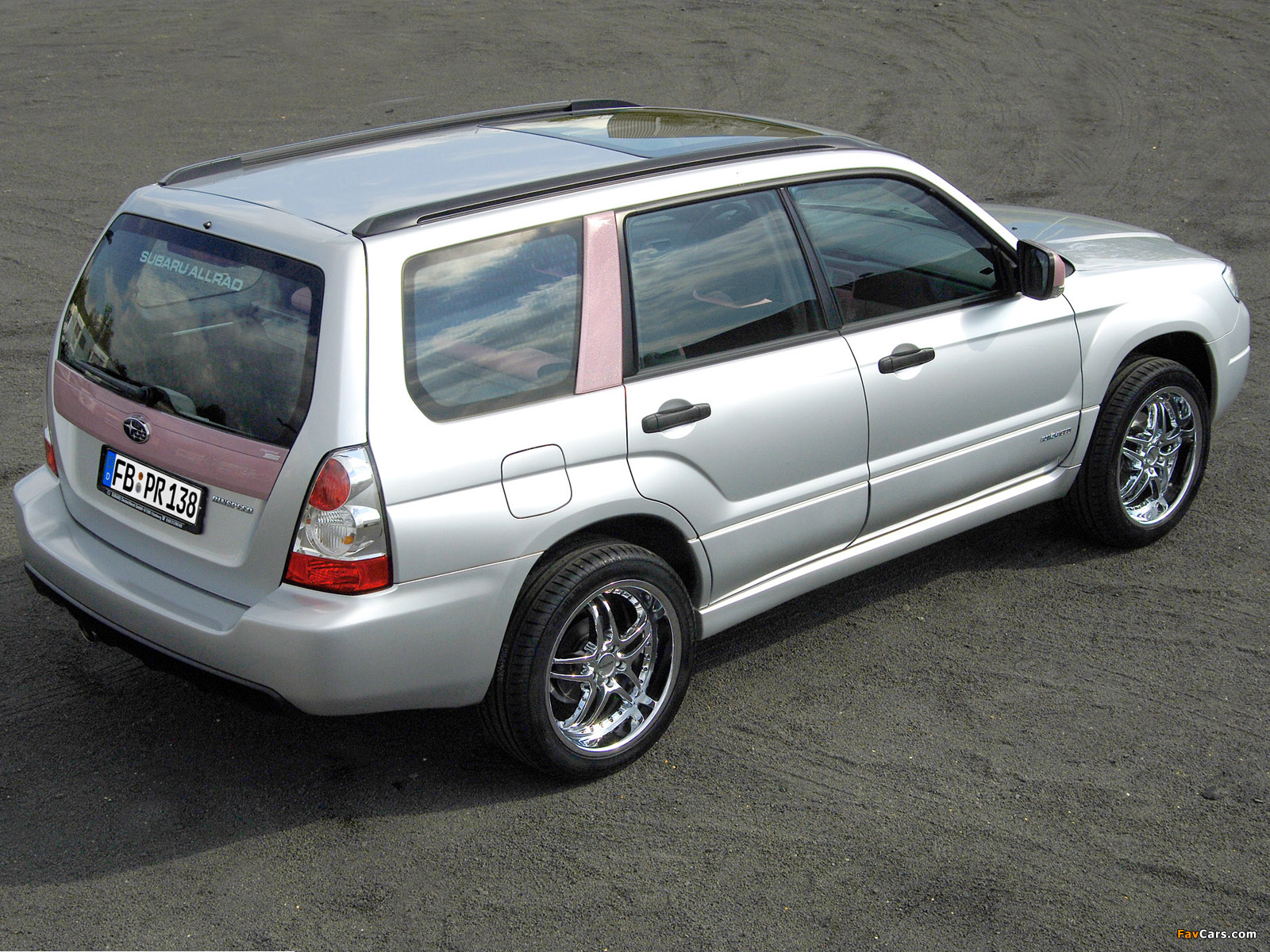 Rinspeed Subaru Forester Lady 2005 images (1600 x 1200)
