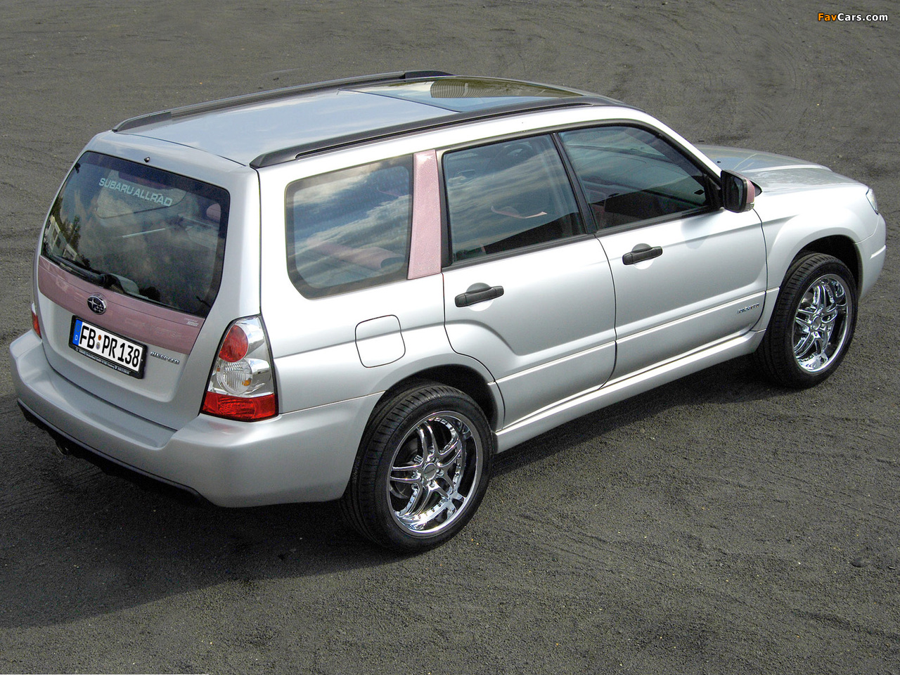 Rinspeed Subaru Forester Lady 2005 images (1280 x 960)