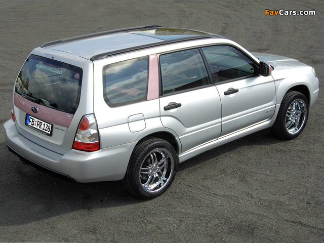 Rinspeed Subaru Forester Lady 2005 images (640 x 480)