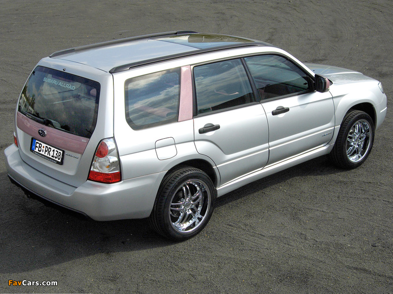 Rinspeed Subaru Forester Lady 2005 images (800 x 600)