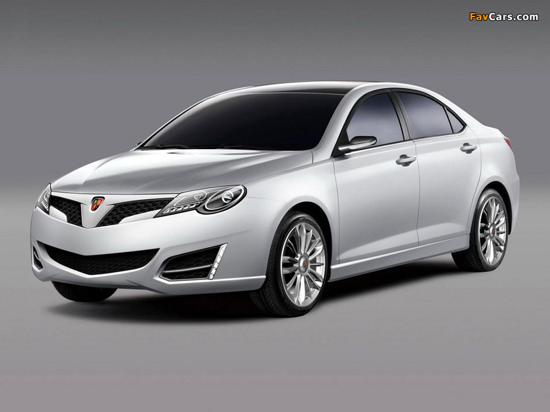 Images of Roewe W2 Concept 2007 (800 x 600)