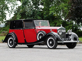 Rolls-Royce 20/25 HP Brougham de Ville by Barker 1936 wallpapers