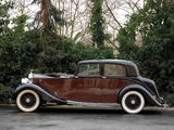 Pictures of Rolls-Royce 25/30 HP Sport Saloon 1938