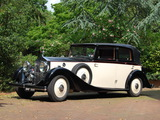 Rolls-Royce 25/30 HP Tickford All Weather Saloon by Salmons & Sons 1937 wallpapers