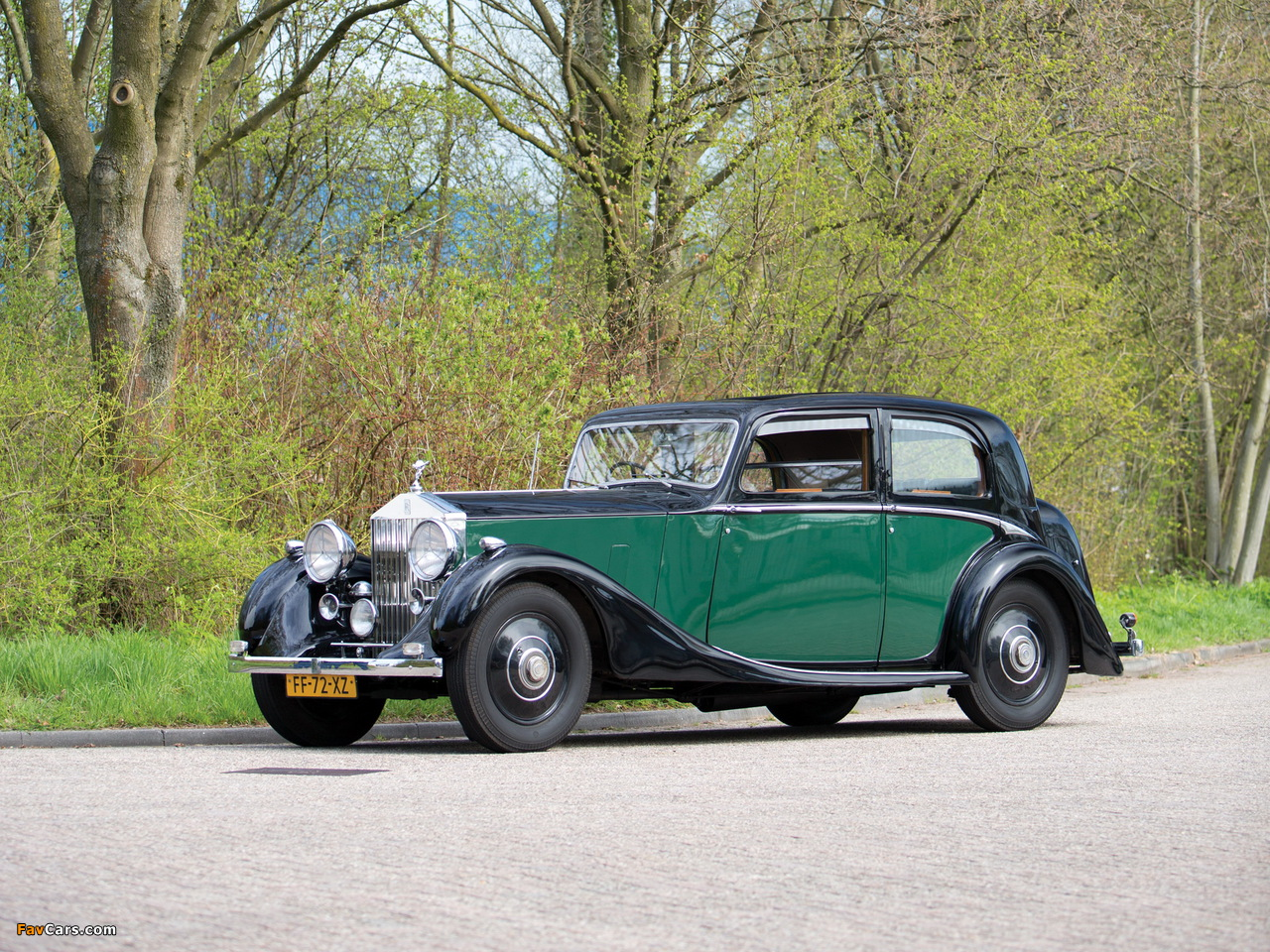 Rolls-Royce 25/30 HP Sports Saloon by James Young 1938 wallpapers (1280 x 960)