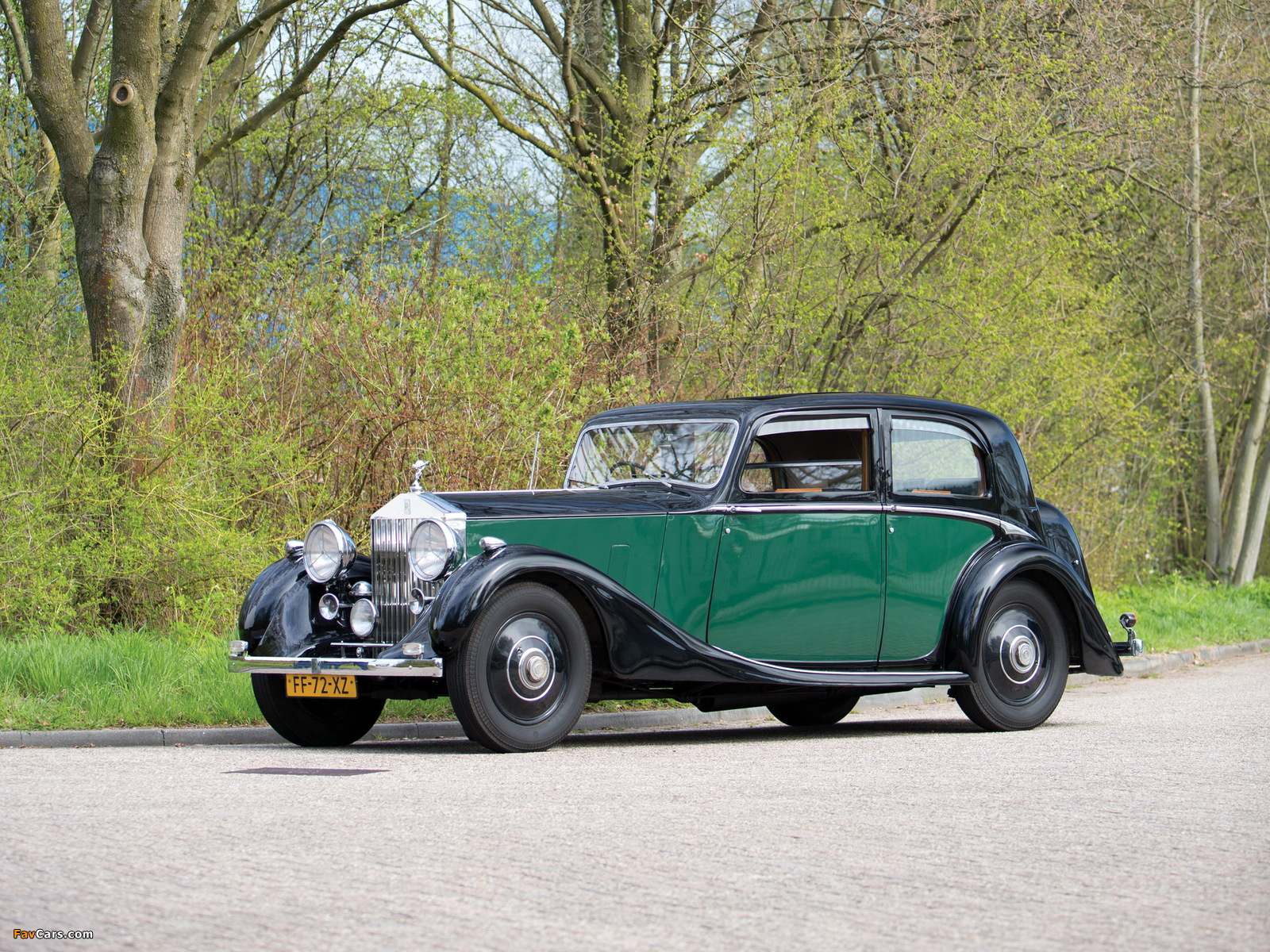 Rolls-Royce 25/30 HP Sports Saloon by James Young 1938 wallpapers (1600 x 1200)