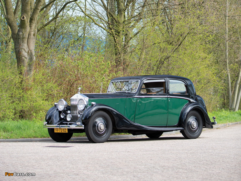 Rolls-Royce 25/30 HP Sports Saloon by James Young 1938 wallpapers (800 x 600)