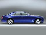 Rolls-Royce Ghost UK-spec 2009–14 images