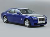 Rolls-Royce Ghost UK-spec 2009–14 photos