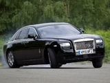 Rolls-Royce Ghost UK-spec 2009–14 wallpapers