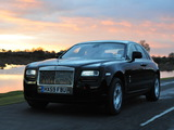 Rolls-Royce Ghost UK-spec 2009–14 wallpapers