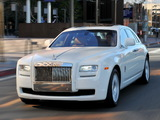 Rolls-Royce Ghost US-spec 2009–14 wallpapers