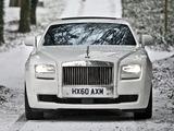 Rolls-Royce Ghost UK-spec 2009 wallpapers