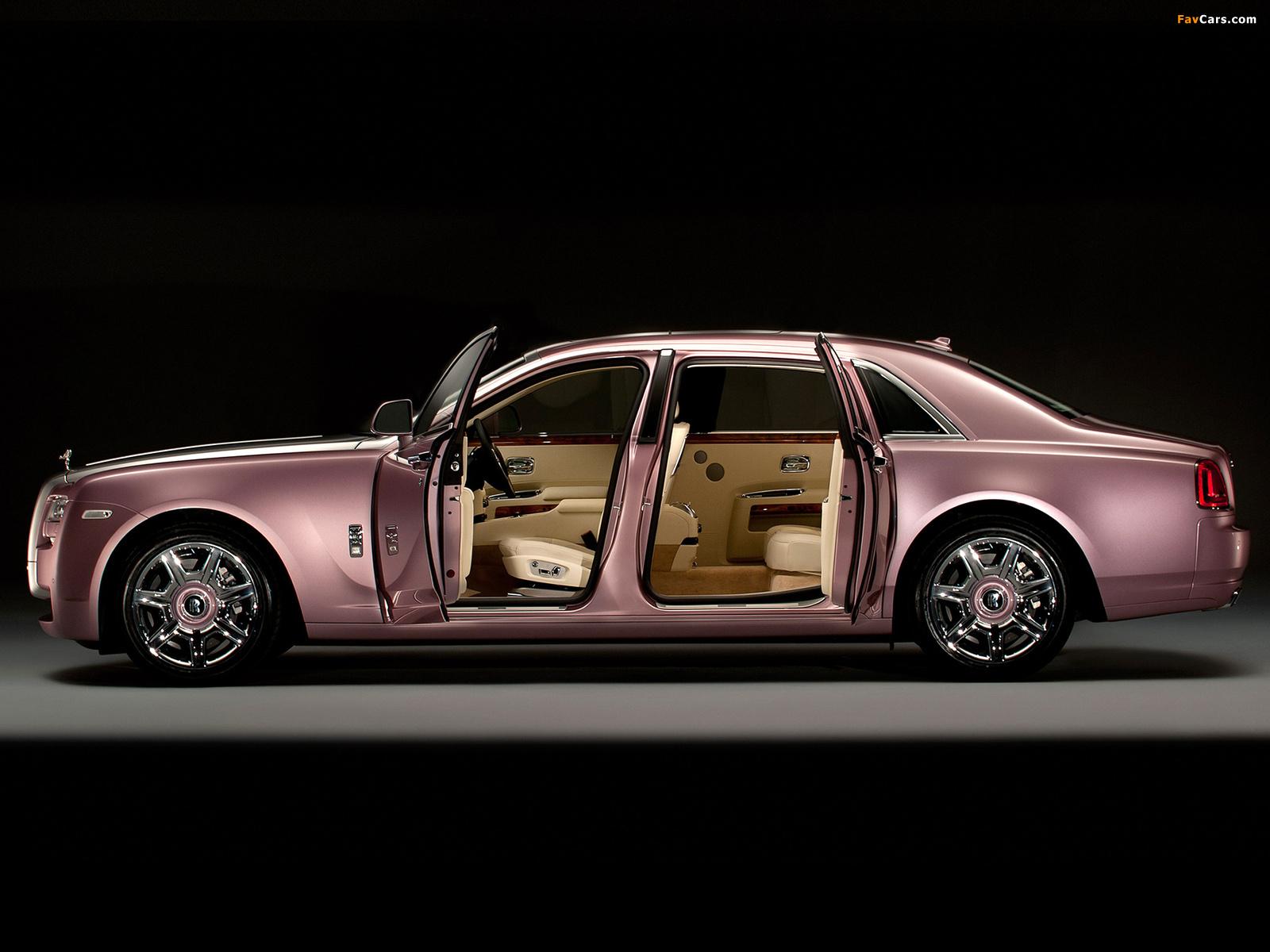 Rose Royce Car Images >> Rolls-Royce Ghost Rose Quartz 2012 wallpapers (1600x1200)