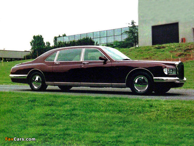 Rolls-Royce Majestic by Bertone 1995 pictures (640 x 480)