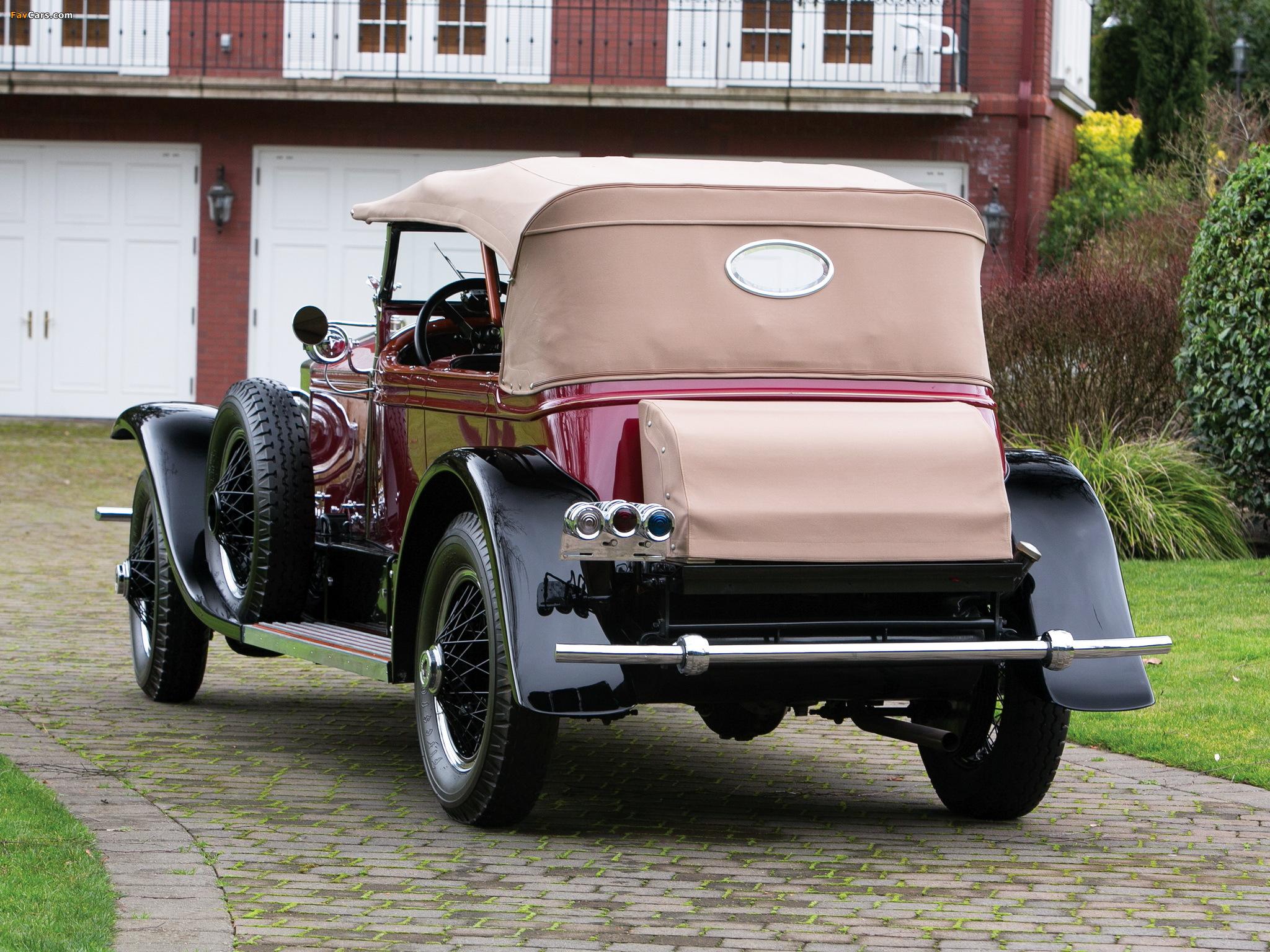 Images of Rolls-Royce Phantom I Derby Speedster by Brewster (S155PM) 1927 (2048 x 1536)
