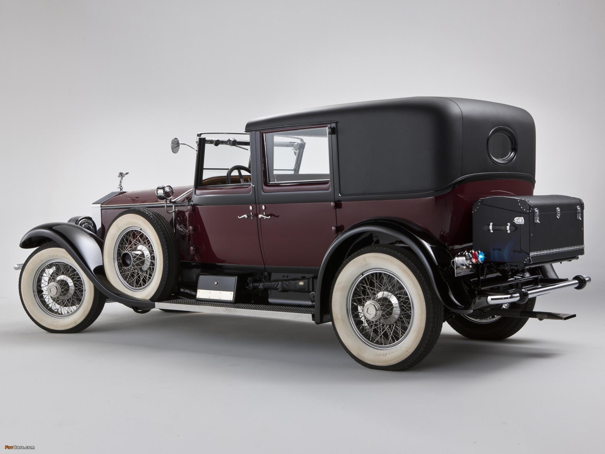 Images of Rolls-Royce Springfield Phantom I Town Car by Hibbard & Darrin 1928 (2048 x 1536)