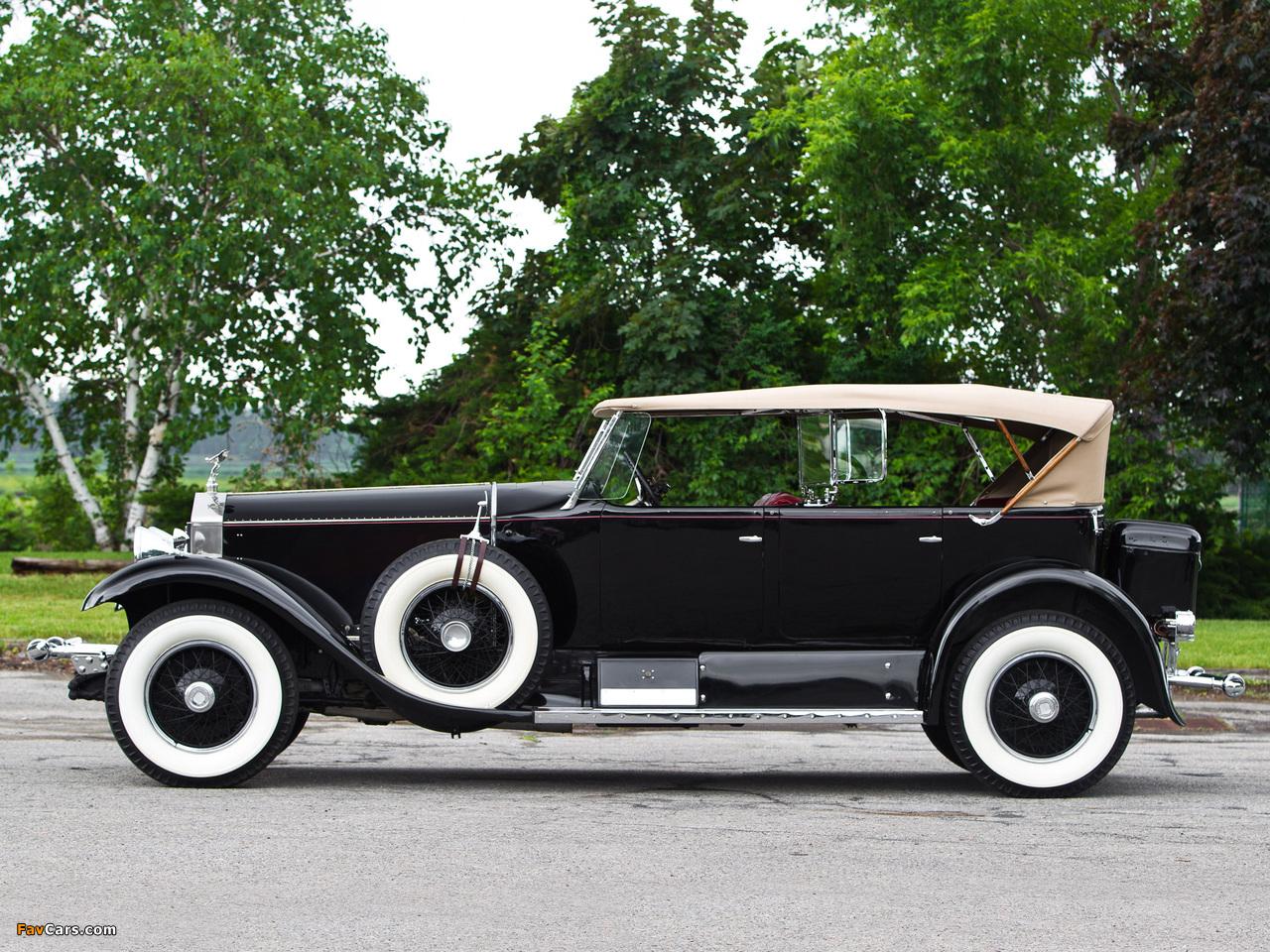 Images of Rolls-Royce Phantom I Sports Phaeton by Murphy 1929 (1280 x 960)