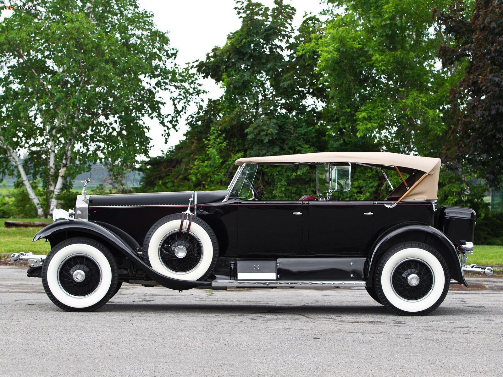 Images of Rolls-Royce Phantom I Sports Phaeton by Murphy 1929 (1600 x 1200)