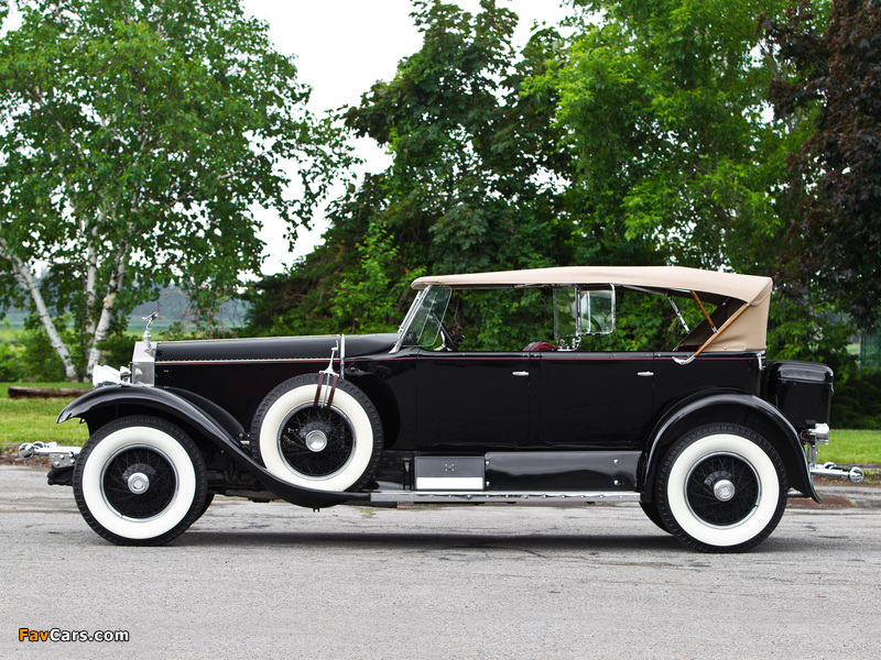Images of Rolls-Royce Phantom I Sports Phaeton by Murphy 1929 (800 x 600)