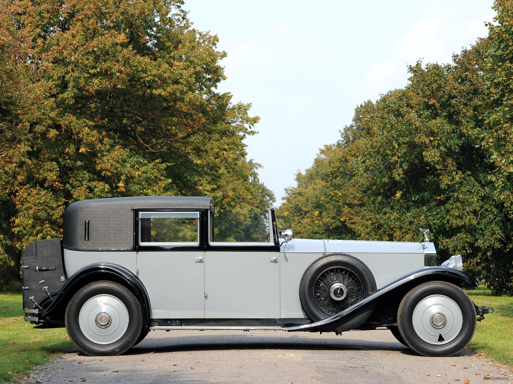 Images of Rolls-Royce Phantom II Sedanca de Ville by Barker 1929 (2048 x 1536)