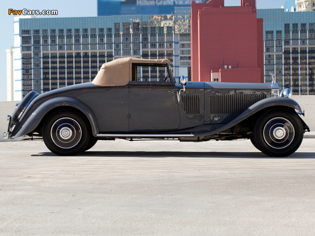 Images of Rolls-Royce Phantom II Continental Drophead Coupe by Carlton 1932 (640 x 480)