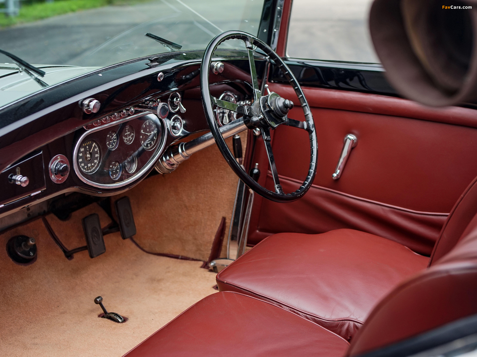 Images of Rolls-Royce Phantom II Continental Owen Sedanca Coupe by Gurney Nutting 1934 (1600 x 1200)