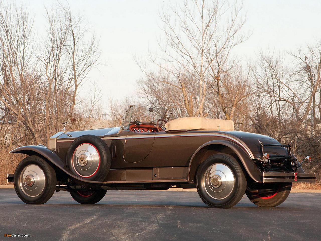 Photos of Rolls-Royce Phantom I York Roadster 1925 (1280 x 960)