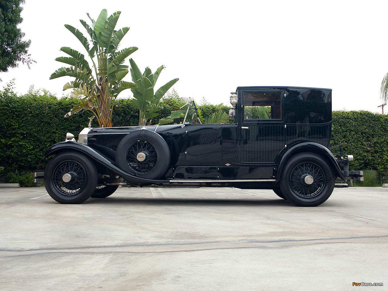 Photos of Rolls-Royce Phantom I Brougham de Ville 1927 (1280 x 960)