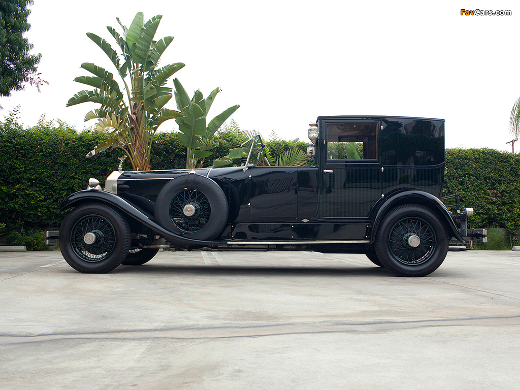 Photos of Rolls-Royce Phantom I Brougham de Ville 1927 (1024 x 768)
