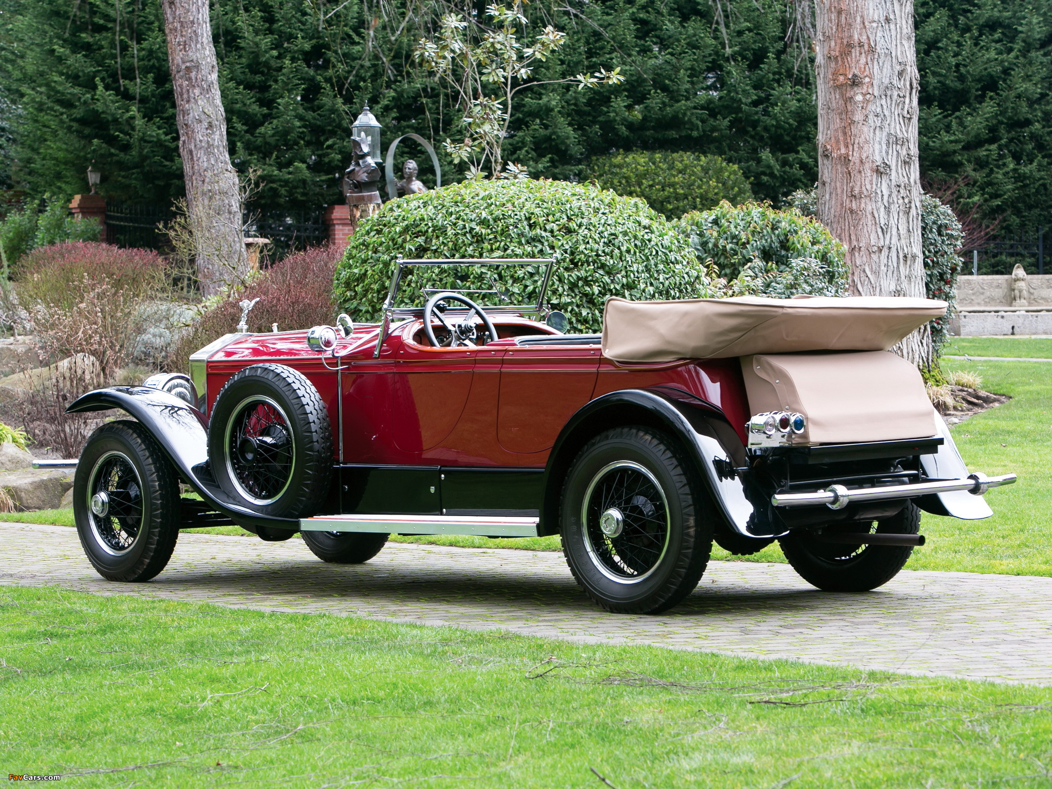 Photos of Rolls-Royce Phantom I Derby Speedster by Brewster (S155PM) 1927 (2048 x 1536)