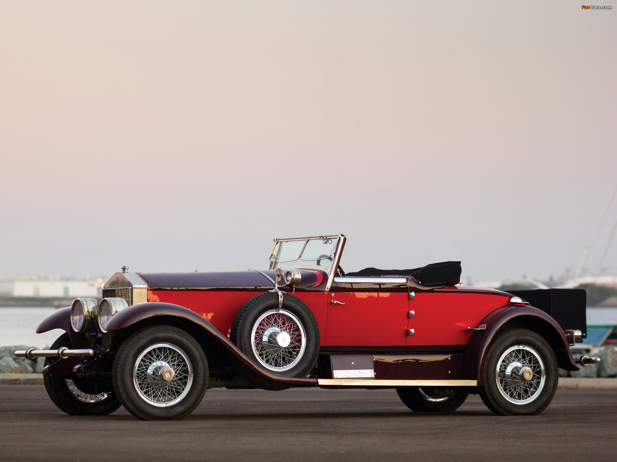 Photos of Rolls-Royce Phantom I Special Roadster by Hibbard & Darrin (S297FP-2038) 1928 (2048 x 1536)