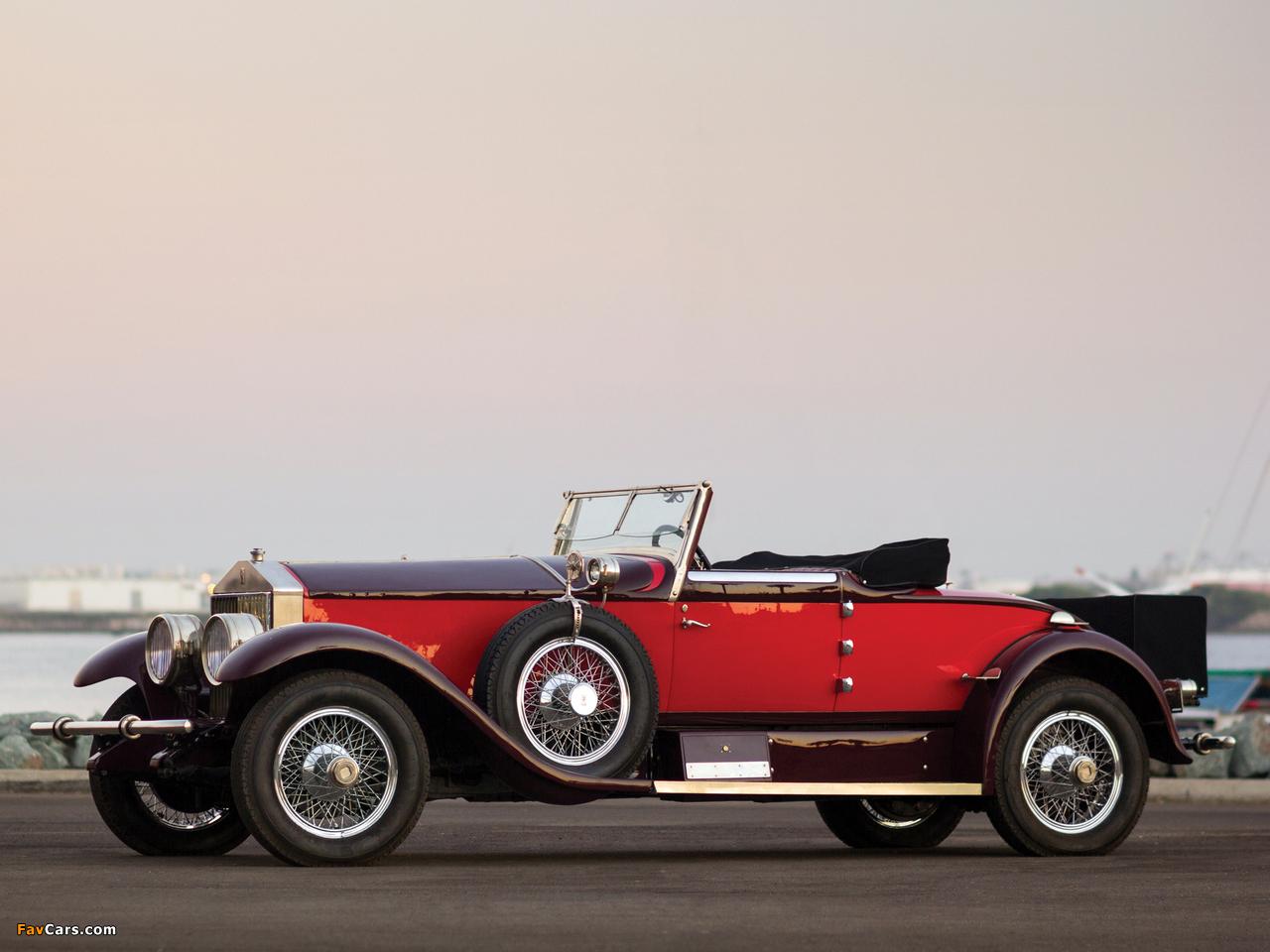 Photos of Rolls-Royce Phantom I Special Roadster by Hibbard & Darrin (S297FP-2038) 1928 (1280 x 960)