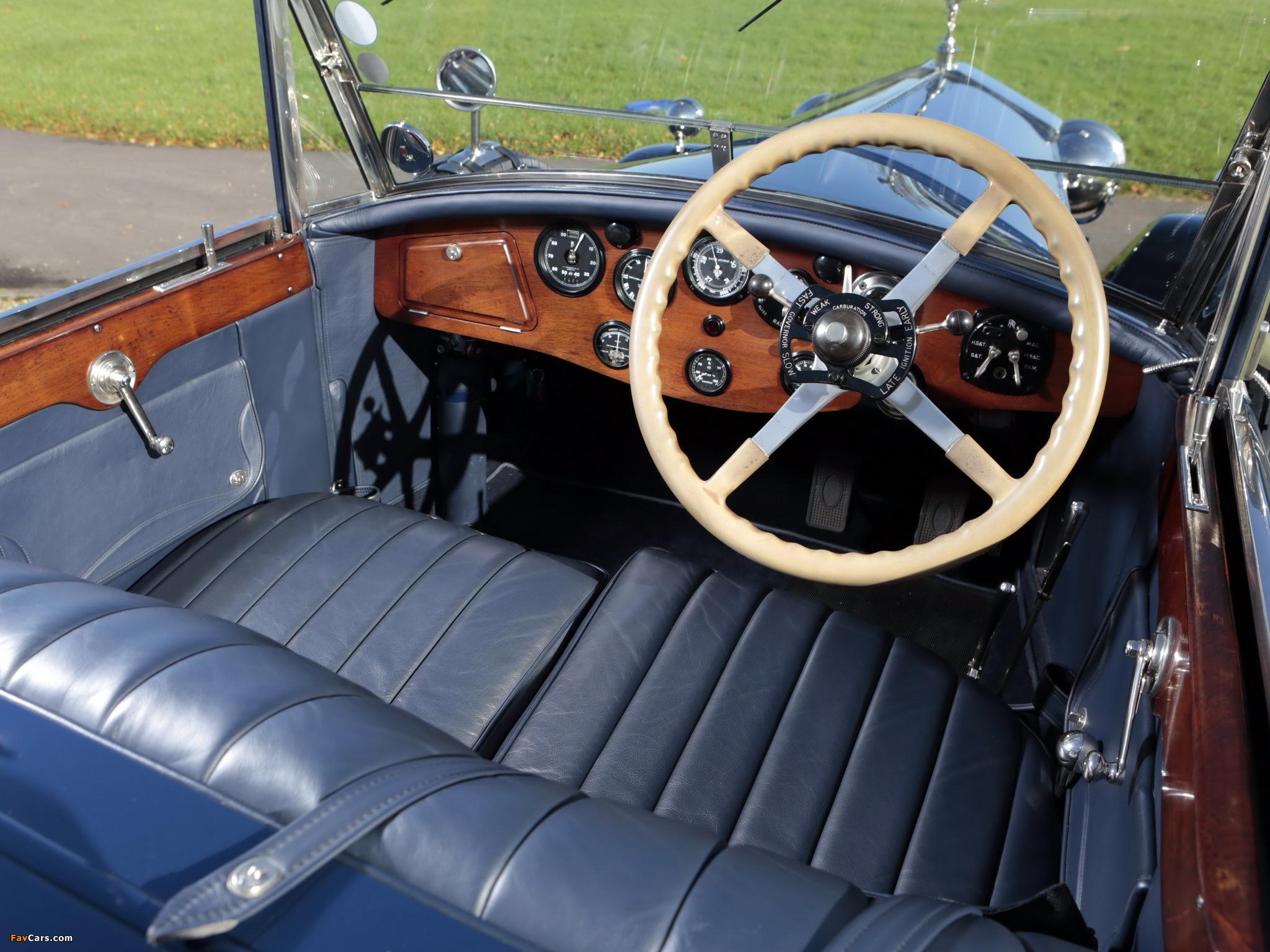 Photos of Rolls-Royce Phantom I 40/50 HP Tourer by James Young 1928 (2048 x 1536)