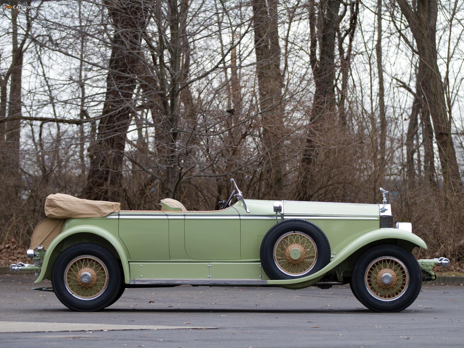 Photos of Rolls-Royce Phantom I Ascot Tourer by Brewster (S398KP-5418) 1929 (1600 x 1200)