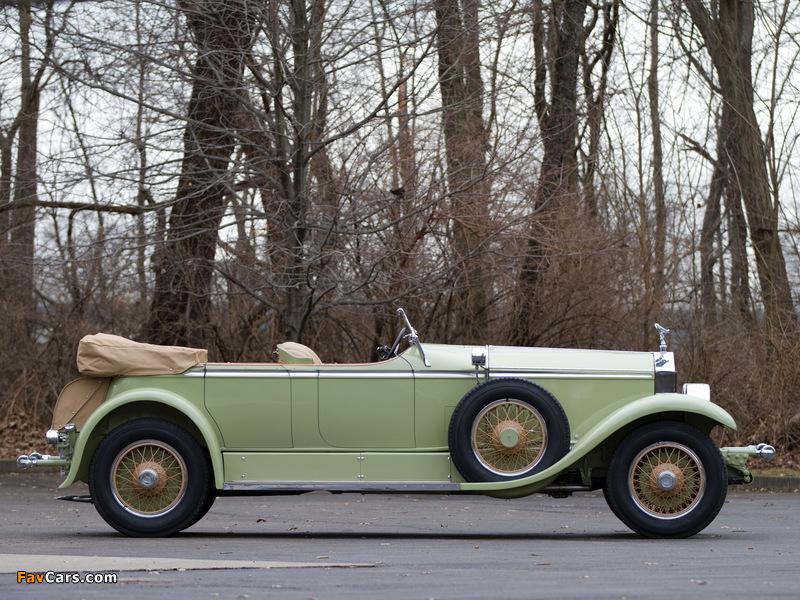 Photos of Rolls-Royce Phantom I Ascot Tourer by Brewster (S398KP-5418) 1929 (800 x 600)