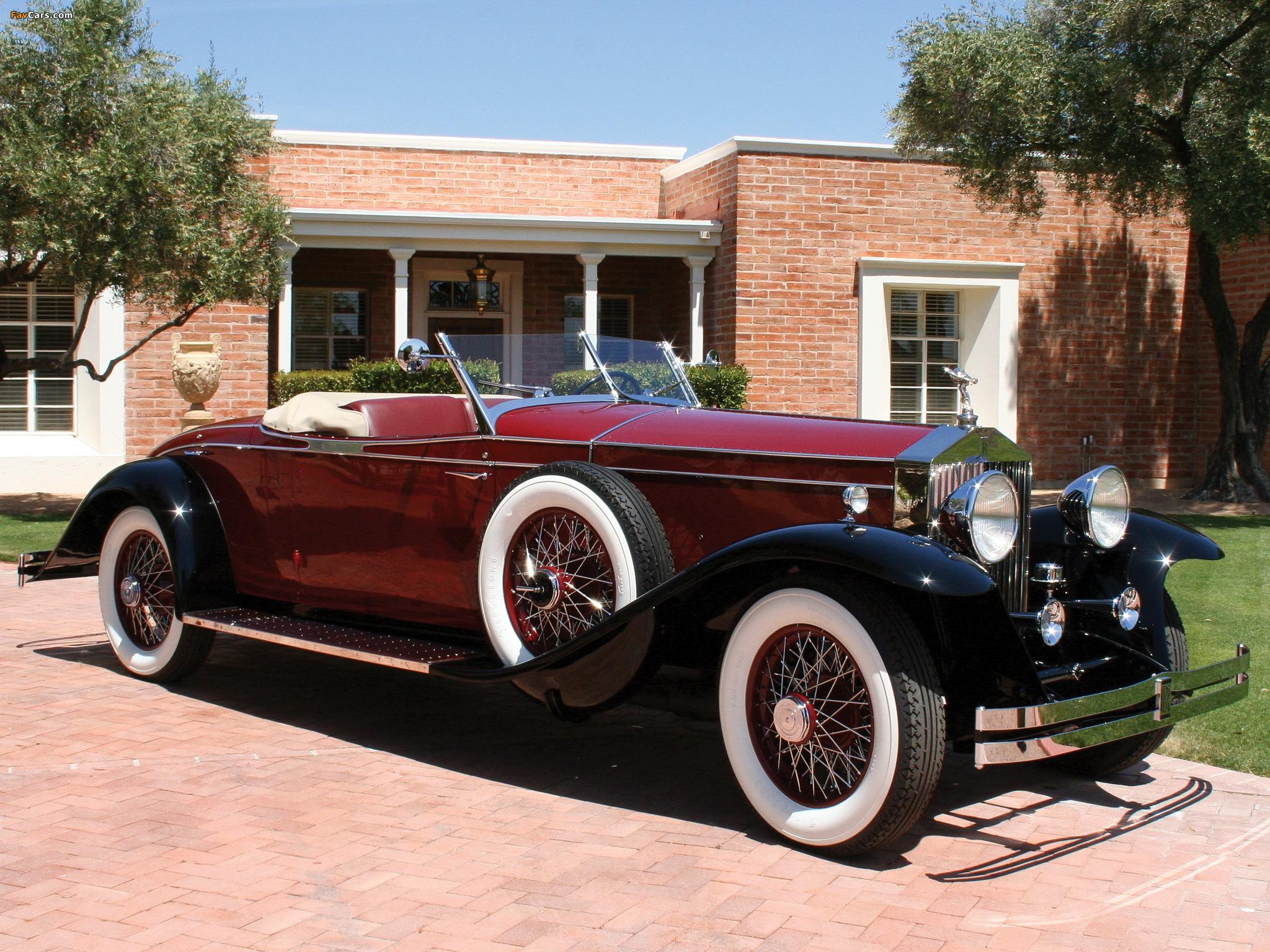 Photos of Rolls-Royce Phantom II Roadster by Brewster 1931 (2048 x 1536)