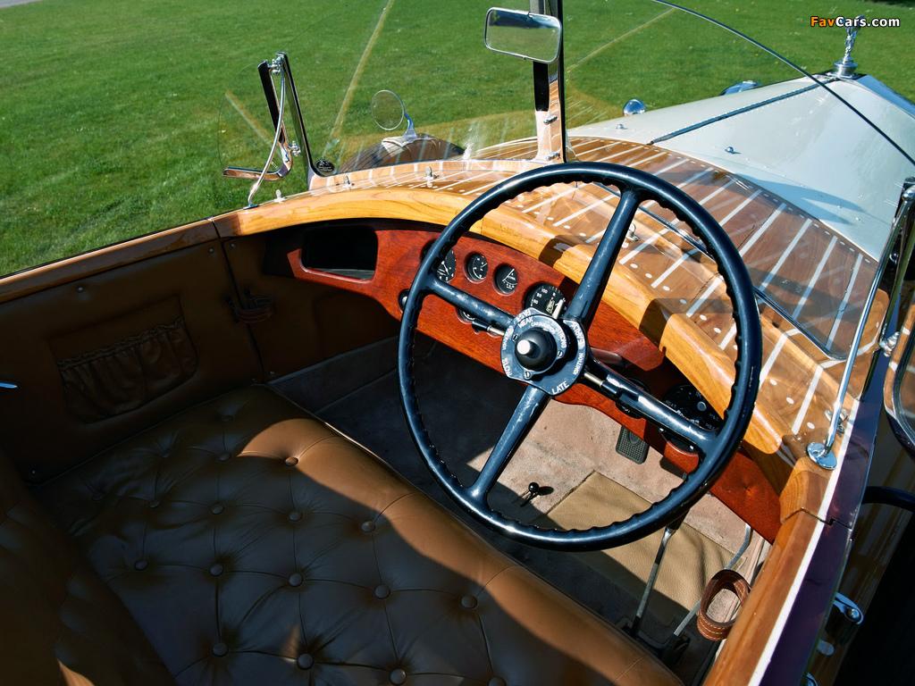 Photos of Rolls-Royce Phantom II 40/50 HP Continental Boattail Tourer 1932 (1024 x 768)