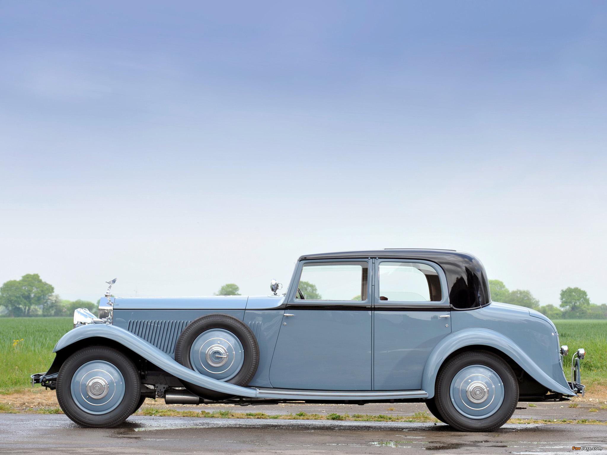 Photos of Rolls-Royce Phantom II 40/50 HP Continental Saloon by Barker 1934 (2048 x 1536)