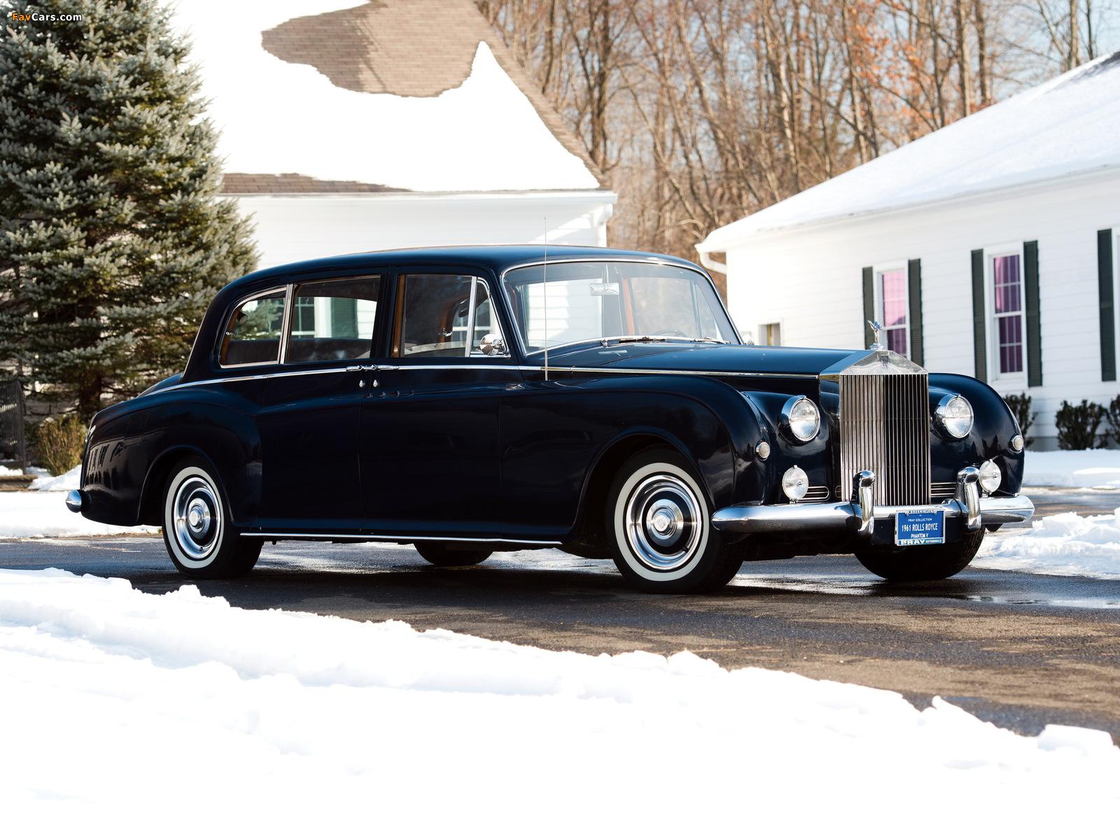 Photos of Rolls-Royce Phantom V Park Ward Limousine 1959–63 (1600 x 1200)
