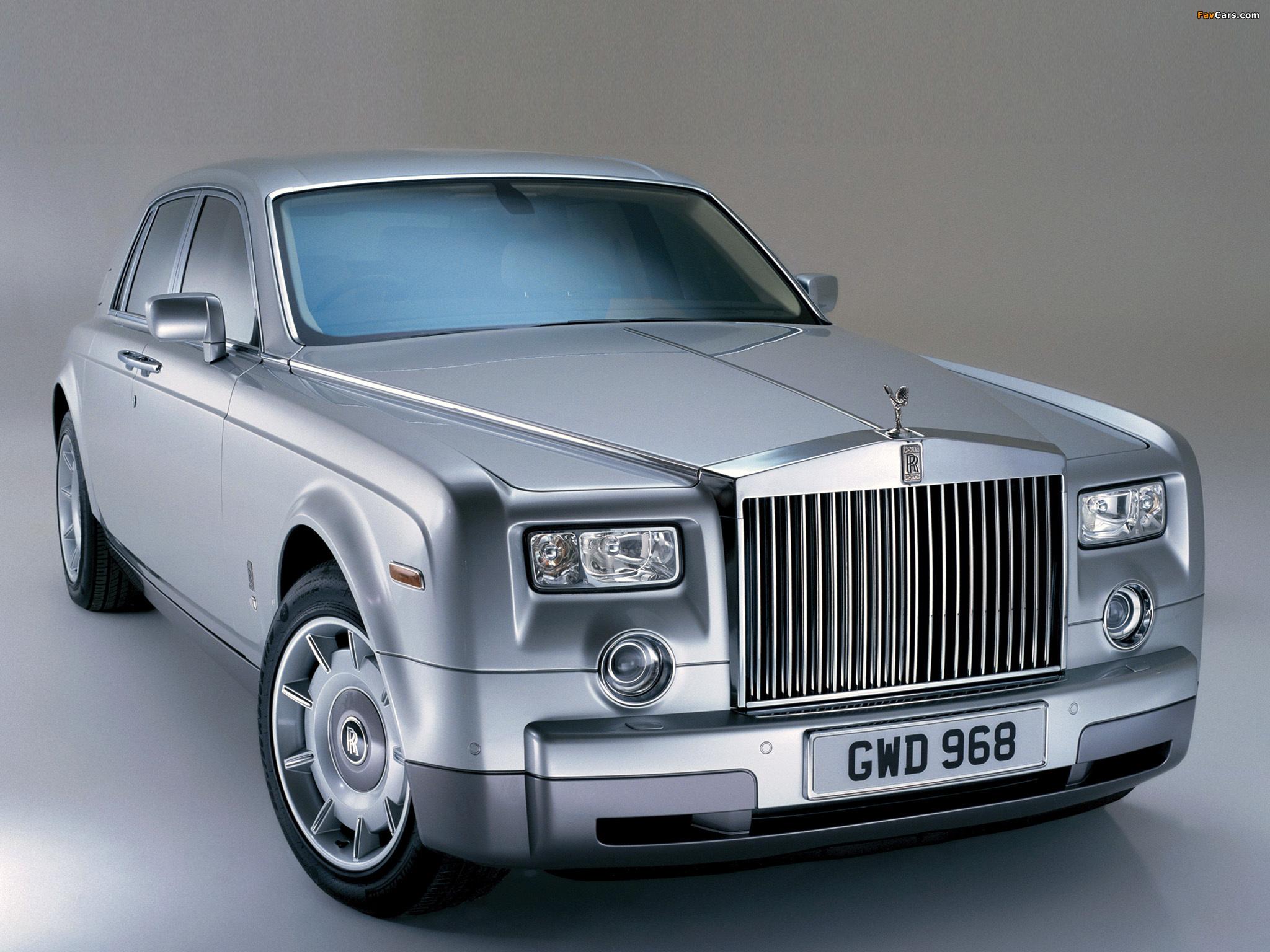 Photos of Rolls-Royce Phantom UK-spec 2003–09 (2048 x 1536)