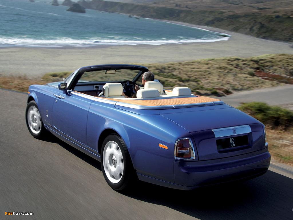 Photos of Rolls-Royce Phantom Drophead Coupe UK-spec 2008–12 (1024 x 768)