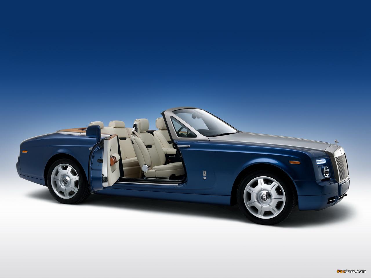 Photos of Rolls-Royce Phantom Drophead Coupe UK-spec 2008–12 (1280 x 960)
