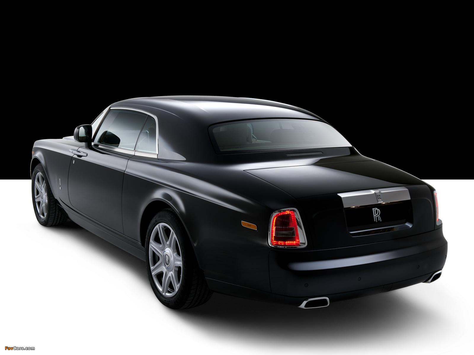 Photos of Rolls-Royce Phantom Coupe UK-spec 2009–12 (1600 x 1200)