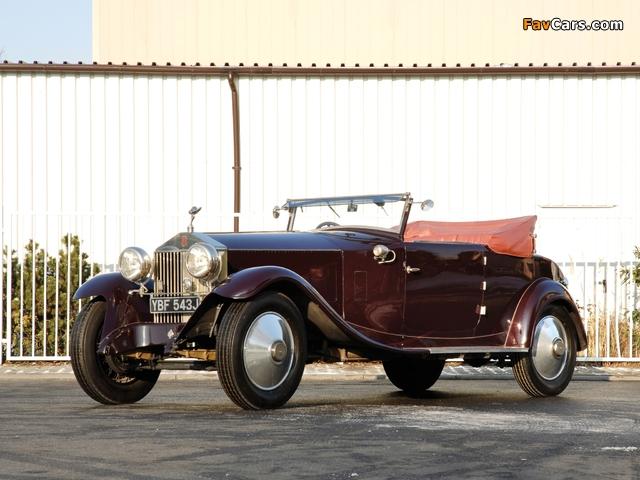 Photos of Rolls-Royce Phantom 40/50 HP Cabriolet by Manessius (I) 1925 (640 x 480)
