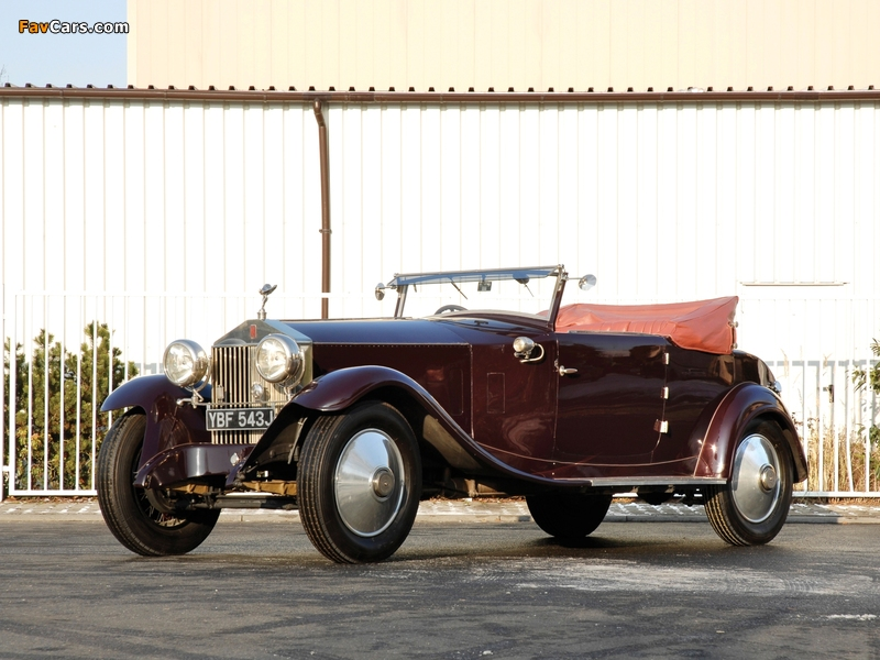 Photos of Rolls-Royce Phantom 40/50 HP Cabriolet by Manessius (I) 1925 (800 x 600)