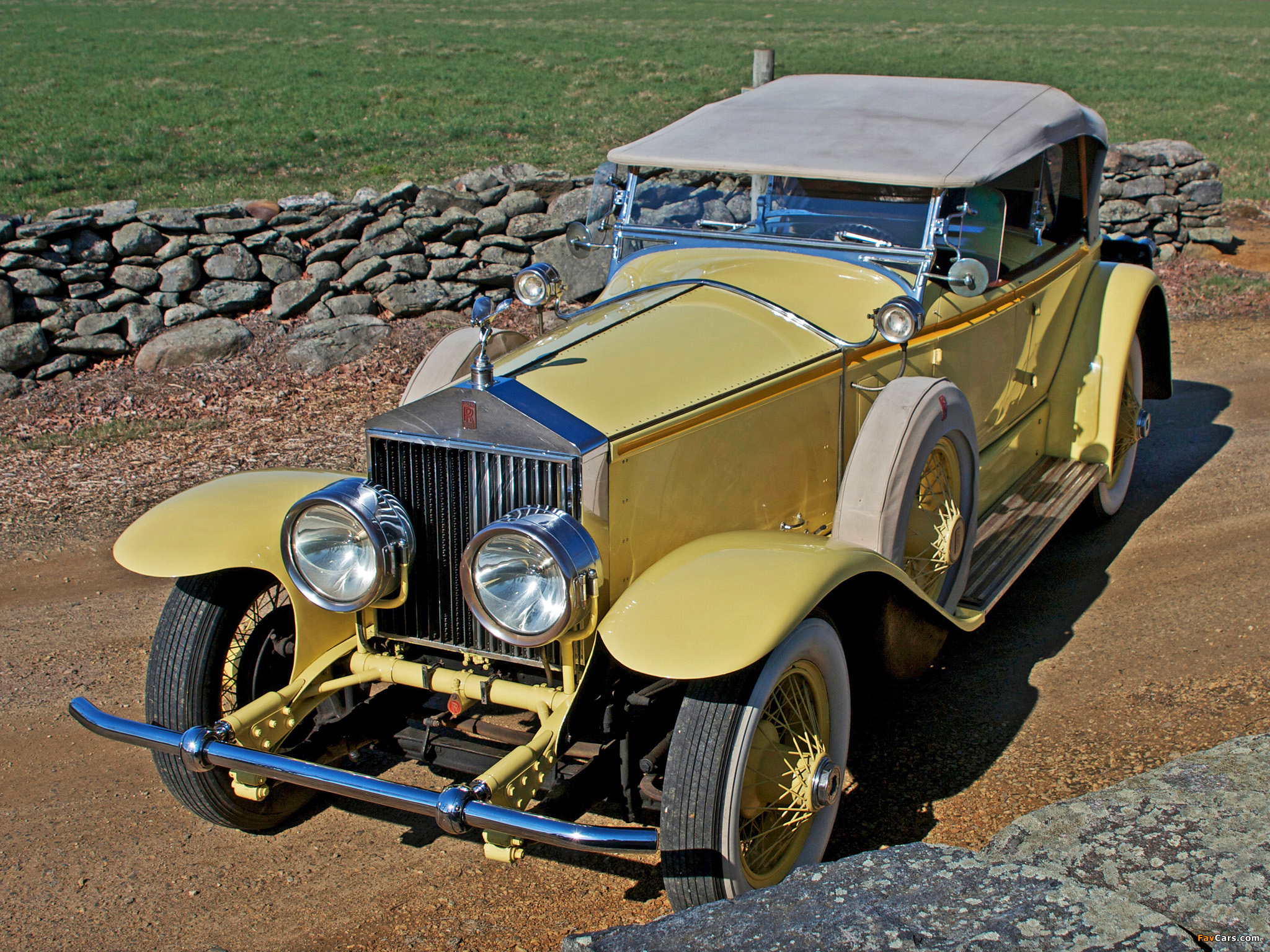 Pictures of Rolls-Royce Phantom I 40/50 HP Ascot Sport Phaeton by Brewster (S304KP-7180) 1928 (2048 x 1536)