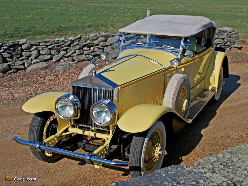Pictures of Rolls-Royce Phantom I 40/50 HP Ascot Sport Phaeton by Brewster (S304KP-7180) 1928 (800 x 600)