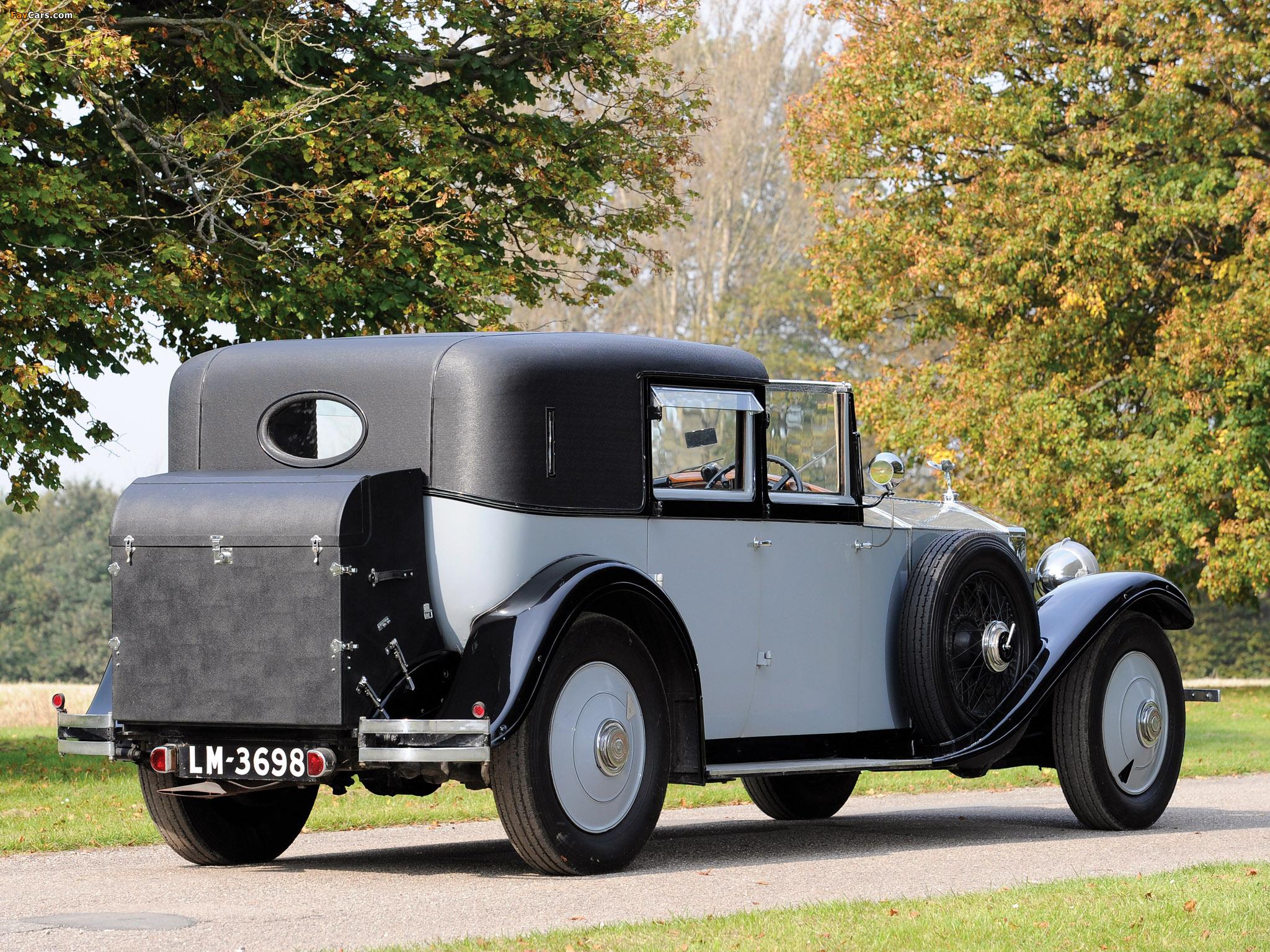 Pictures of Rolls-Royce Phantom II Sedanca de Ville by Barker 1929 (2048 x 1536)