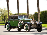Pictures of Rolls-Royce Springfield Phantom I Convertible Sedan by Hibbard & Darrin 1929